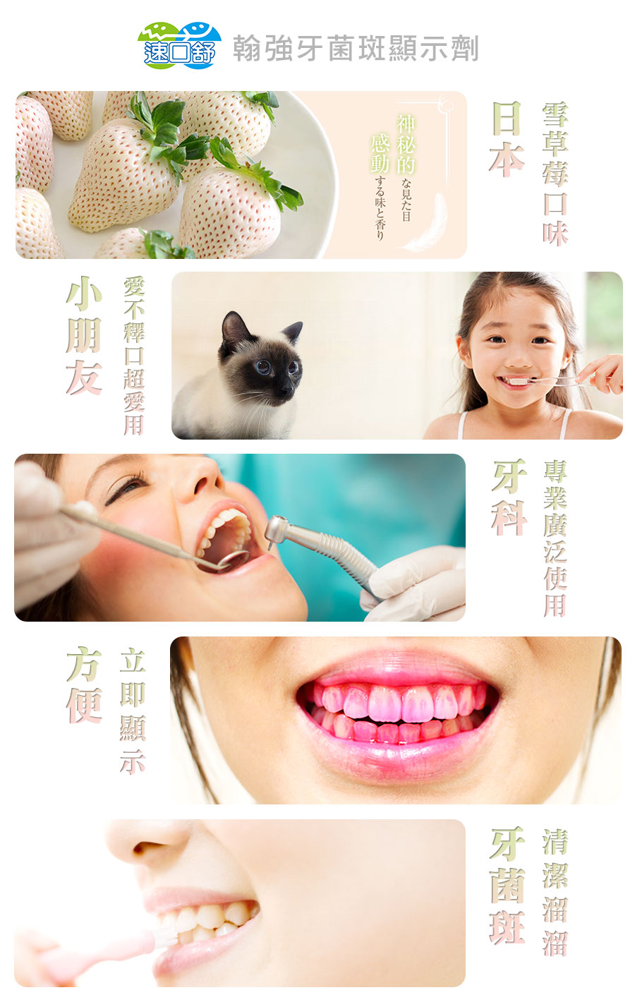翰強生物科技-牙菌斑顯示劑-牙菌斑原理